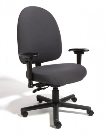 Cramer Extra Large Back 24 Hour Triton Max Desk Chair 500 lb. Capacity