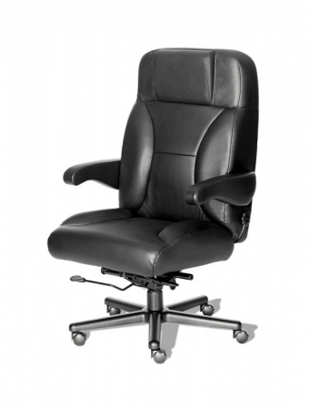 Chief Big and Tall Intensive Use Dispatch Fabric or Leather Chair by ERA Products - 500 lbs Rating (ERA-CHIEF)
