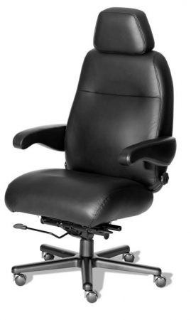 Henry 24 Hour Intensive Use Fabric or Leather Chair by ERA Products - 500 lbs Rating (ERA-HENR2PC)