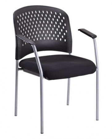 Eurotech Breeze Guest Chair w/ Perforated Plastic Back