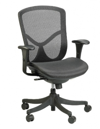 Eurotech Fuzion Basic Mid Back Mesh Office Chair