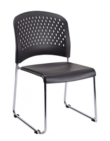 Eurotech S3000 Armless Stack Chair With Sled Base (EUR-S3000)