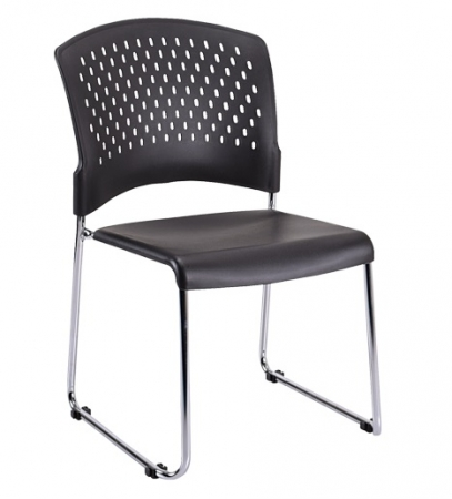 Eurotech S4000 Stacking Chair with No Arms