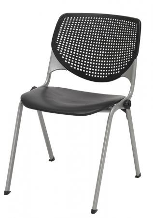 KFI 2300 Series Stack Chair 5 Color Options Rated For 400 lbs