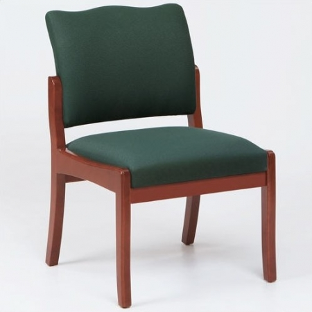Lesro Franklin Series Armless Guest Chair w/ Solid Hardwood Construction (LS-D1851K5)