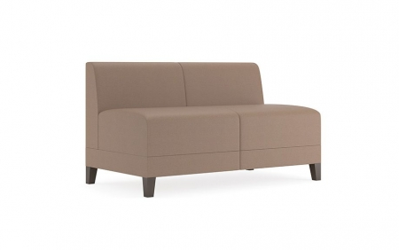 Lesro Fremont Series Armless Loveseat