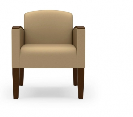 Lesro Belmont Series Waiting Room Chair w/ 400 lb. Rating