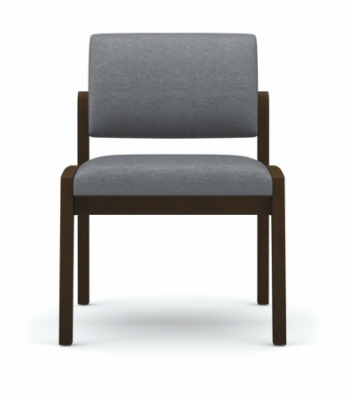 Lesro Lenox Series Armless Guest Chair