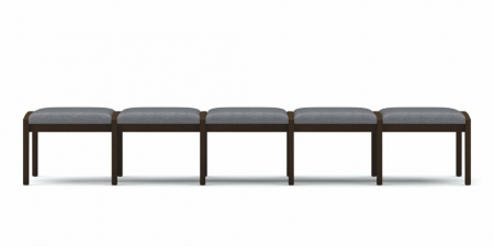 Lesro Lenox Series 5 Seat Reception Bench