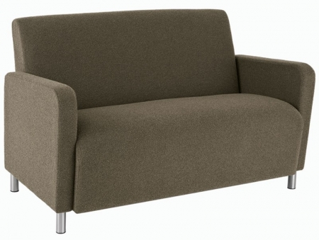 Lesro Ravenna Series Loveseat With Optional Steel or Wood Legs (LS-Q1501G8)