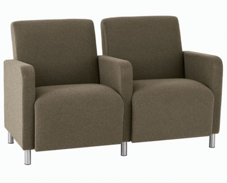 Lesro Ravenna Series Two Seat Sofa With Center Arm (LS-Q2403G8)