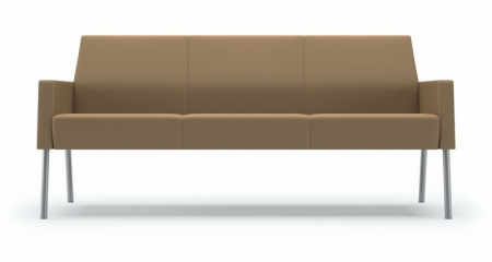 Lesro Mystic Lounge Series Panel Arm Sofa 100+ Upholstery Options  (LS-S3831K4)