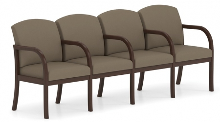 Lesro Weston Series 4 Seat Sofa w/Center Arms
