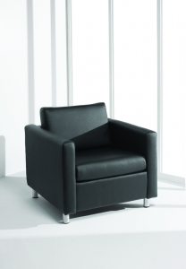 Nightingale Danforth Series Modern Club Chair 40+ Upholstery Options