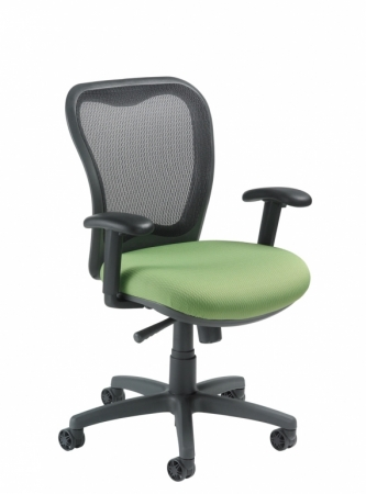 Nightingale LXO Mid Back Mesh Office Chair With Adjustable Arms (NG-6000)