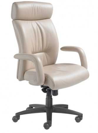 Nightingale Manno High Back Executive Office Chair With Waterfall Seat Design (NG-8600D)