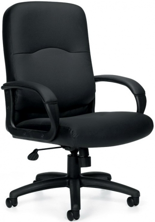 Offices To Go Executive Leather Office Chair w/ Pneumatic Seat Height Adjustment (OTG-11617)