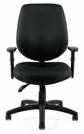 Offices To Go Black Fabric Office Chair