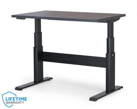 "NewHeights� Elegante XT Electric Sit Stand Desk - 24"" to 51"" Adjustment Range � 325 lbs Capacity **Made in the USA**"