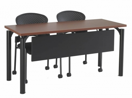 R-Style F-Series Floating Leg Training Room Table w/ Modesty Panel (RA-24XXQ)
