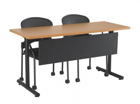 R-Style T-Series T-Base Training Room Tables w/ Modesty Panel (RA-24XXT)