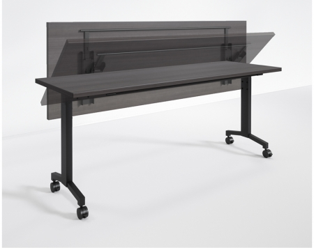 RStyle Flip Series Training Room Table w/ Optional Steel Modesty Panel
