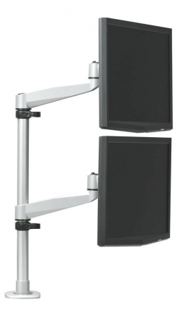 RightAngle Hover Series 2 Vertical Monitor Post Mount Single Extension Arms