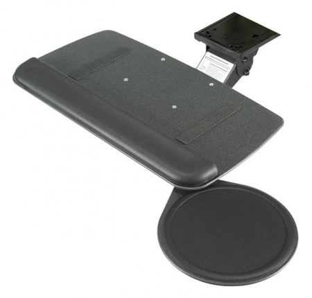 RightAngle Myriad Jr. Value Ergonomic Keyboard Tray w/ Swivel Mouse Tray