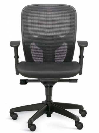 Valo Polo Mesh Back Task Chair w/ Optional Headrest by Dauphin (VAL-PL7902)