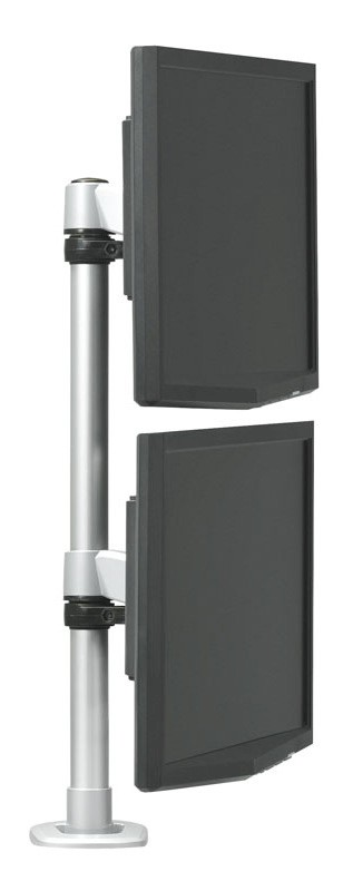 RightAngle Hover Series 2 Vertical Monitor Post Mount No Extension Arm