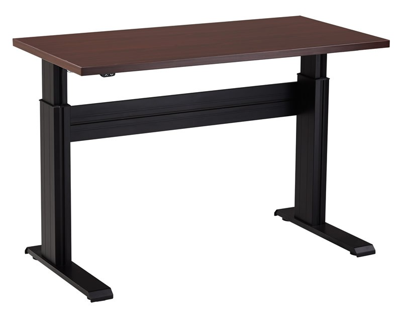 "NewHeights™ Eficiente LT Sit Stand Desk - 27"" to 47"" Adjustment Range - 250 lbs Capacity **Made in the USA**"