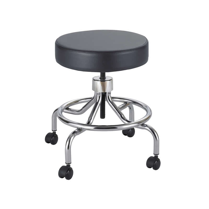 "Safco Dentist or Doctor Stool with Seat Height Range 17"" to 25"""