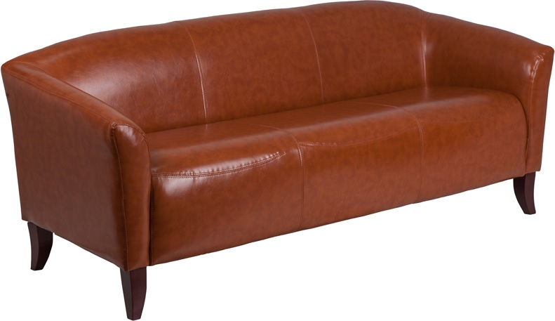 *New* BTOD Imperial Series Leather Sofa Available In Black, White or Brown