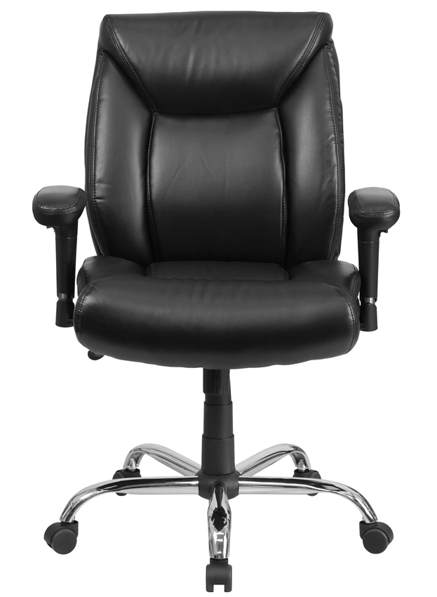 *New* BTOD Leather Big and Tall Office Chair Rated for 400 lbs. 22.5
