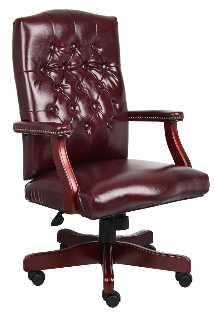 *New* Boss High Back Traditional Office Chair w/ Tufted Back
