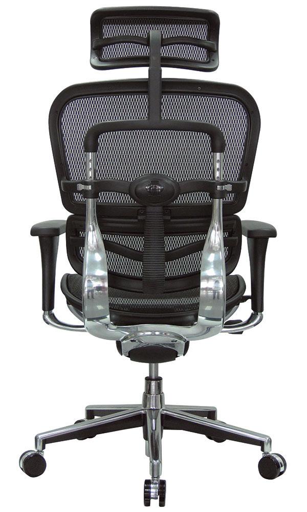 eurotech me7erg ergohuman high back ergonomic mesh chair. Black Bedroom Furniture Sets. Home Design Ideas
