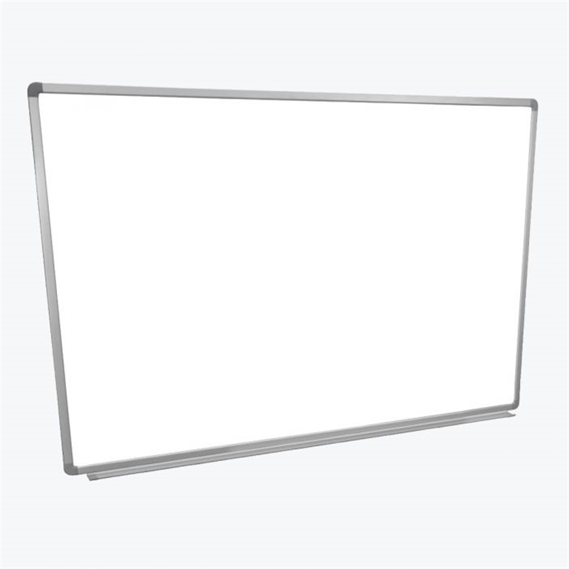 Luxor Grey Finish Wall-Mounted Magnetic Whiteboard Metal Frame