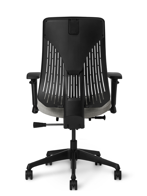 OM Truly. Poly Back Ergonomic Chair Simple Synchro