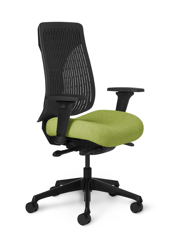 OM Truly. Poly Back Ergonomic Chair Executive Synchro