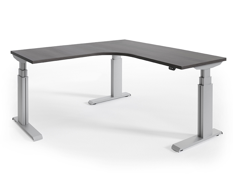 NewHeights Elegante XT Corner Height Adjustable Desk - 24