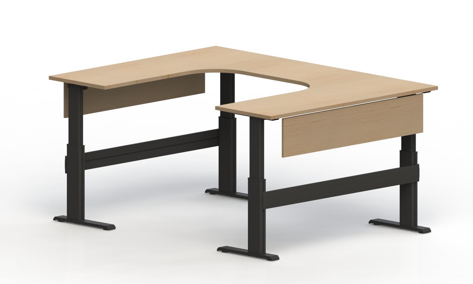 Newheights U Shaped Lt Electric Standing Desk