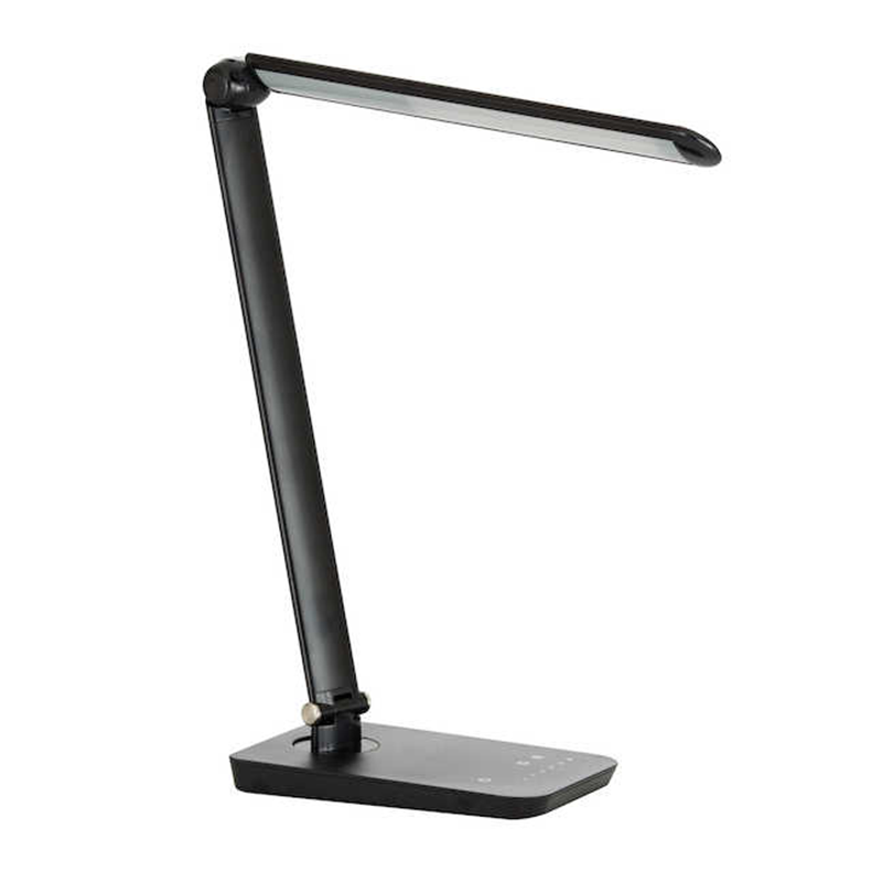 Safco Vamp Black Finish LED Lighting