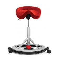 Backapp Smart Active Seating Chair Red
