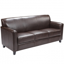 *New* BTOD Diplomat Series Leather Sofa Available In Black Or Brown