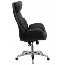 *New* BTOD High Back Modern Leather Office Chair w/ Lumbar Pillow