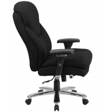 *New* BTOD Big And Tall 24/7 Fabric Office Chair Rated For 400 lbs. 25