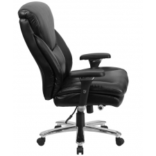 *New* BTOD Heavy Duty Intensive Use Leather Office Chair Rated For 400 lbs. 25