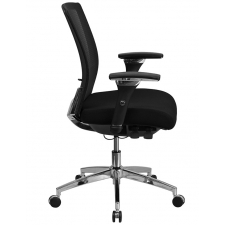 24/7 Dispatch Chair 300 lbs. - Black