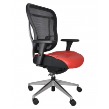 *New* BTOD Akir Chair w/ Mesh Back and Leather Seat