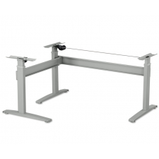 VertDesk v3 L-Shaped Electric Sit Stand Base Only